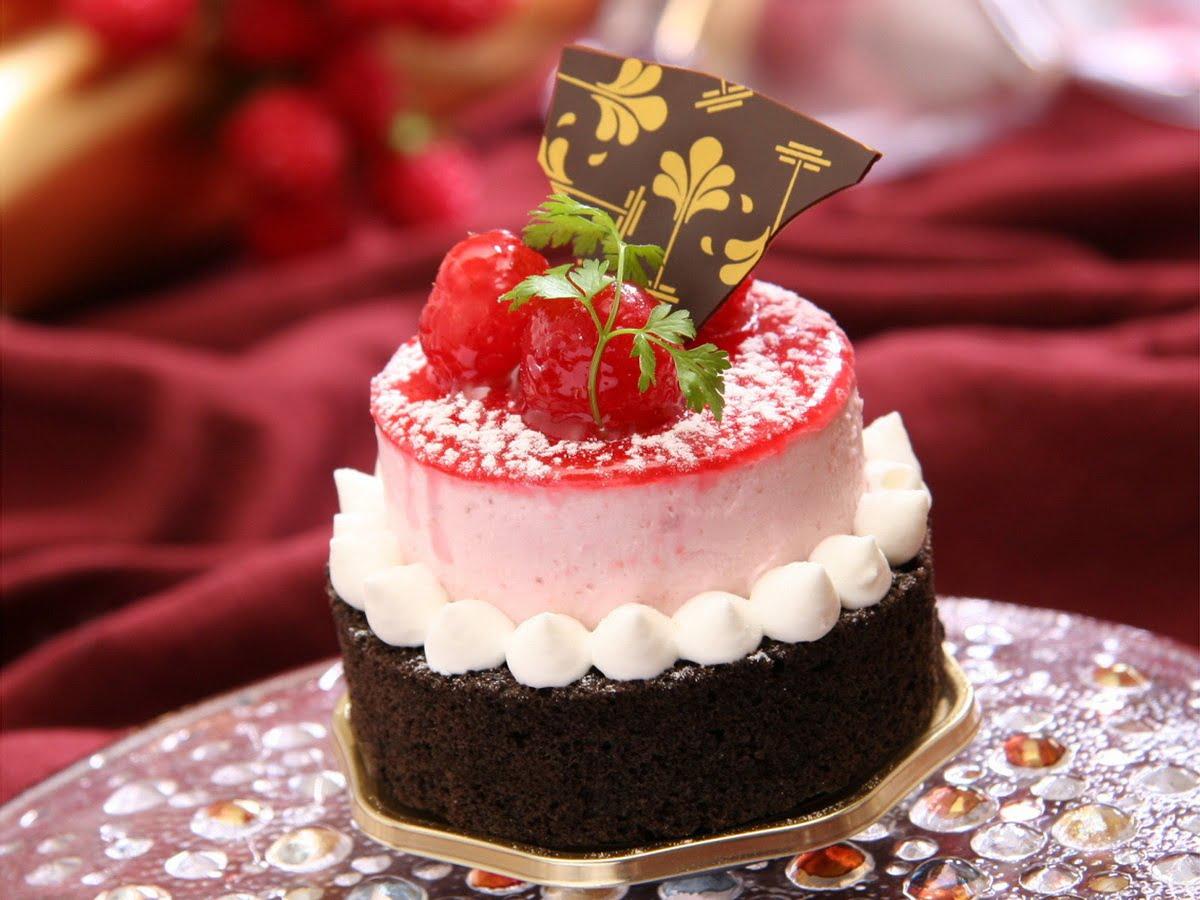 Catering - mini tort urodzinowy