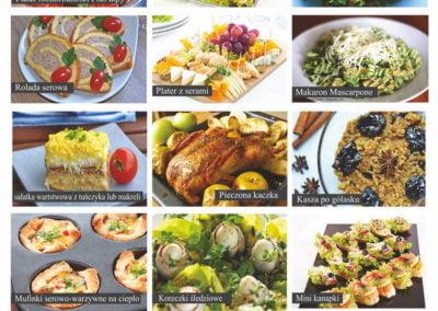 Galeria zdjęć dań cateringowych