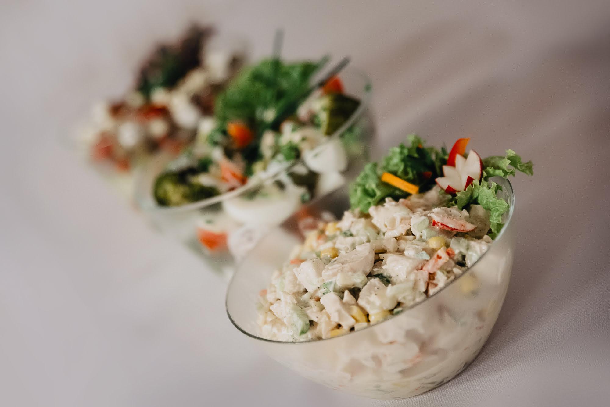 Catering - sałatki